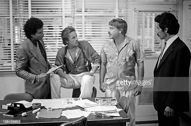 VICE Out Where The Buses Don't Run Episode 3 Air Date Pictured Philip Michael Thomas as Detective Ricardo 'Rico' Tubbs Don Johnson as Detective James...