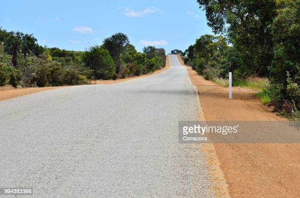outback highway - country road stock pictures, royalty-free photos & images