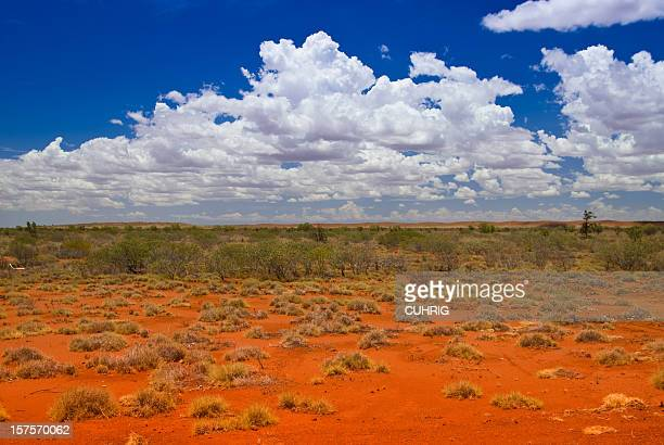 Outback Landscape with hills