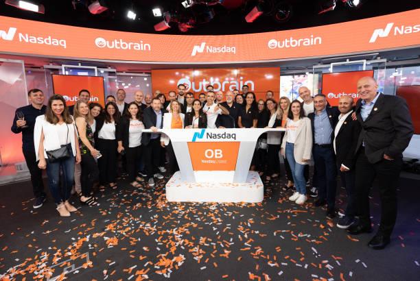 NY: Outbrain Celebrates Nasdaq IPO
