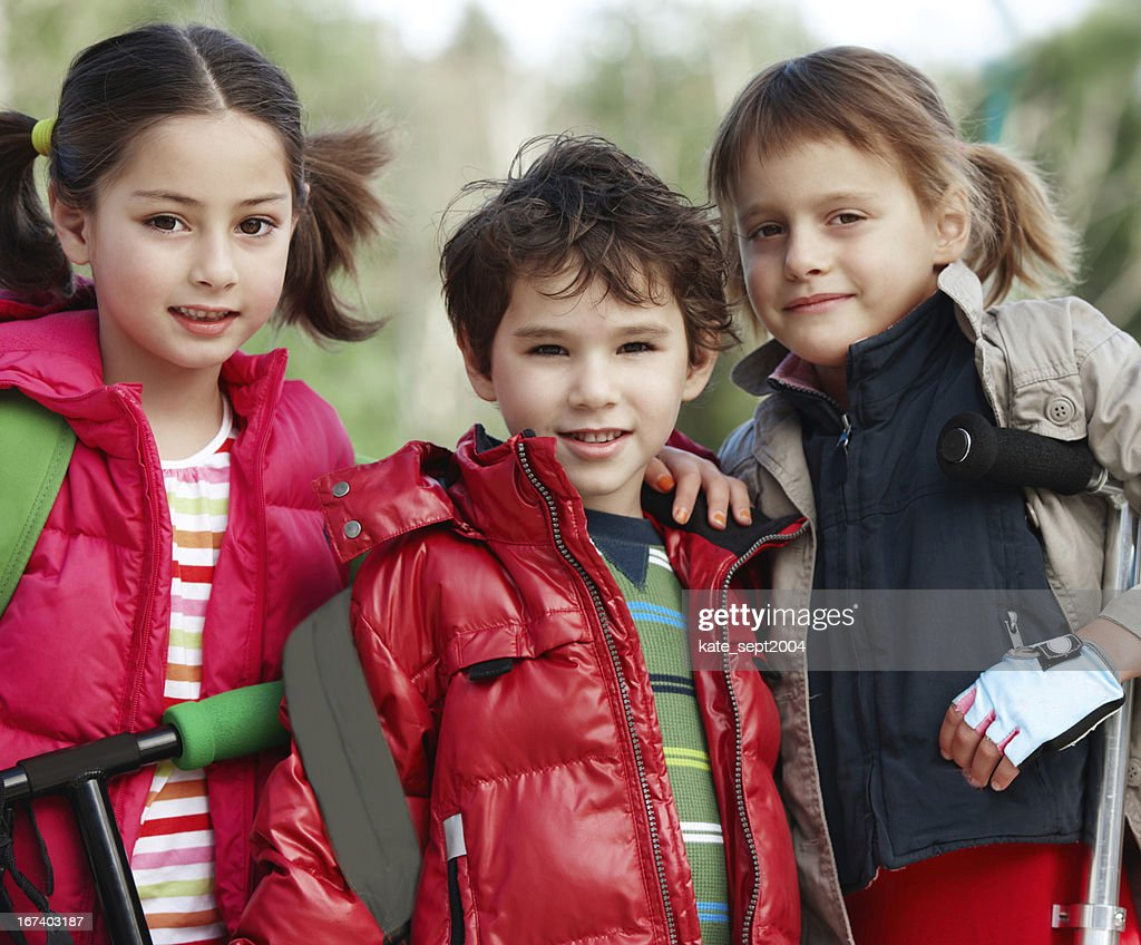 Outdoor activity for kids : Stock Photo