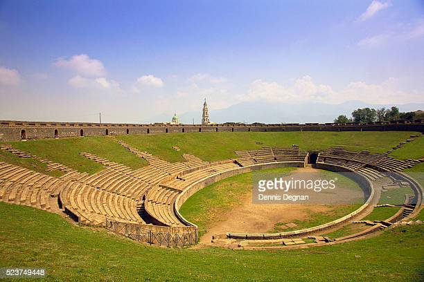 outdoor amphitheater - amphitheatre stock photos and pictures