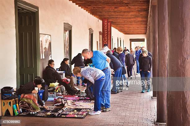 Outdoor Arts and Crafts Market Plaza, Santa Fe, New Mexico