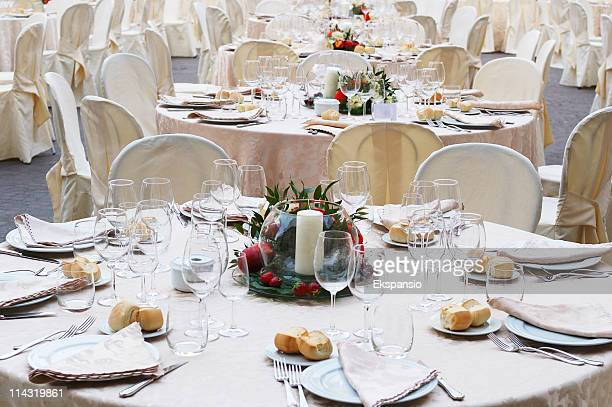 Outdoor Banquet Tables