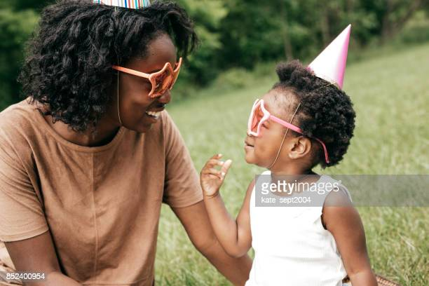 outdoor birthday celebration - happy birthday canada stock pictures, royalty-free photos & images