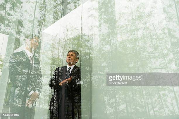 outdoor business meeting - responsible business stock photos and pictures