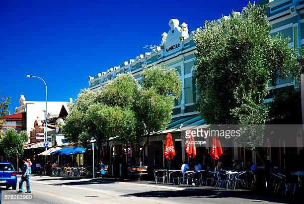Outdoor cafes Fremantle near Perth Western Australia Australia