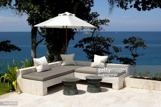 Sedia di mobili all'aperto