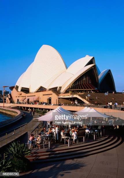 Outdoor Dining Area at Sydney Opera House