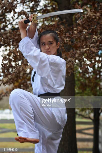 outdoor dojo - gerville stock pictures, royalty-free photos & images