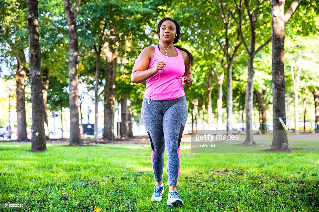 Outdoor fitness activities in the city - Chicago - USA : Foto de stock
