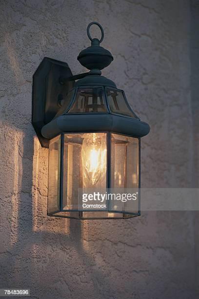 outdoor light - accessorio per le lampade foto e immagini stock