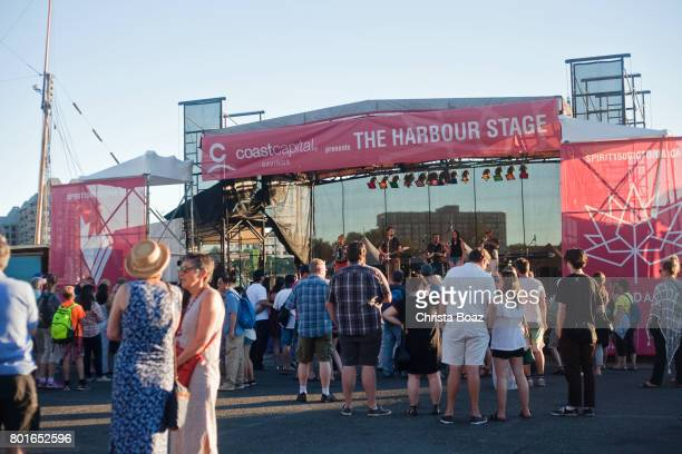 outdoor live music - victoria canada stock pictures, royalty-free photos & images