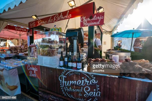 Outdoor Market in Belem, Lisbon, Portugal