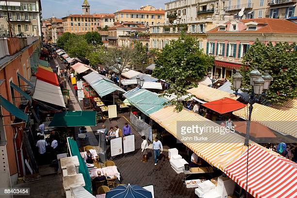 Outdoor market in Provence, France