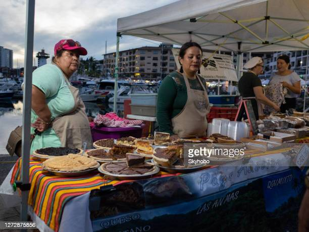 outdoor market puerto vallarta - jalisco state stock pictures, royalty-free photos & images
