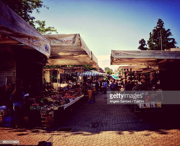 Outdoor Market, Textile Roofs