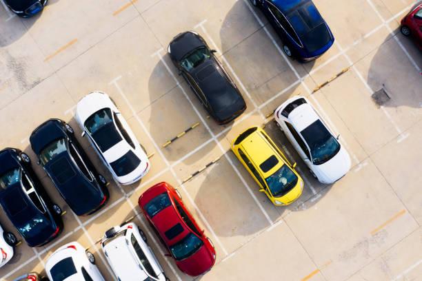 car park line marking