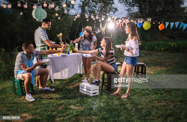 6b6037bcf 60 Top Backyard Party Laughing Pictures, Photos, & Images - Getty Images