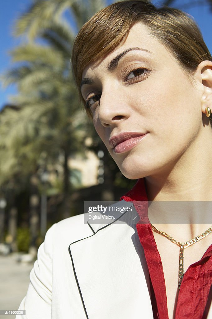 Outdoor Portrait of a Confident Businesswoman : Stock Photo