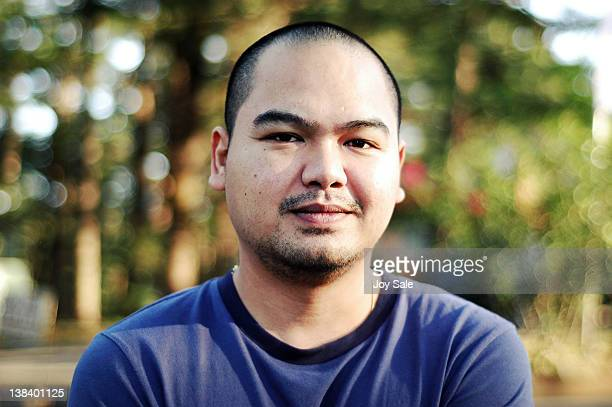 outdoor portrait of adult man - philippines stock pictures, royalty-free photos & images