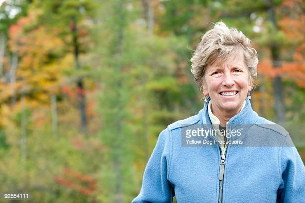 Outdoor Portrait of boomer