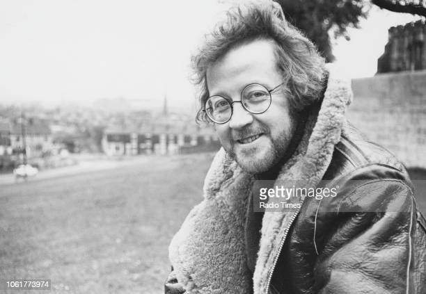 Outdoor portrait of singer Mike Harding May 1978