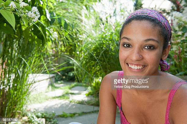 Outdoor Portrait of Teen Girl