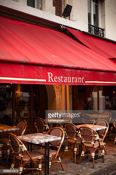 Outdoor Restaurant in Paris
