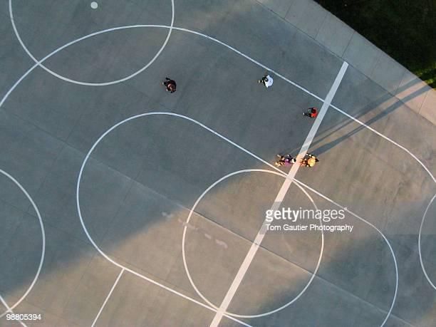 Outdoor roller derby court