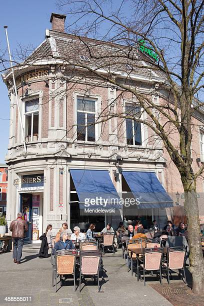 outdoor terrace - tilburg stock pictures, royalty-free photos & images