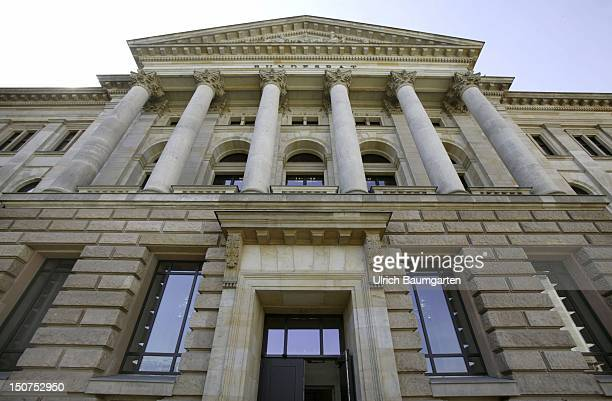 Outdoor view of the Bundesrat the Upper House of the German Parliament in Berlin
