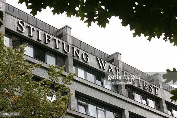 Outdoor view Stiftung Warentest