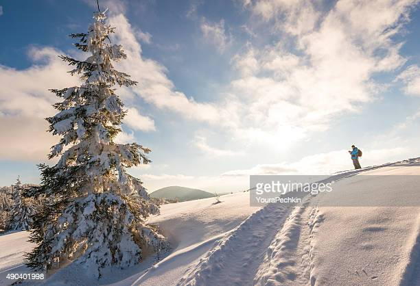 Outdoor winter photographer