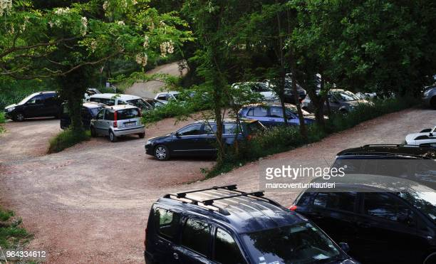 outdoors car parking