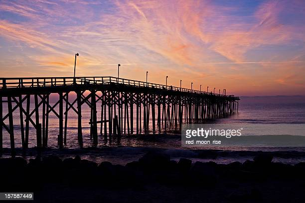 outer banks sunrise - wilmington north carolina stock photos and pictures