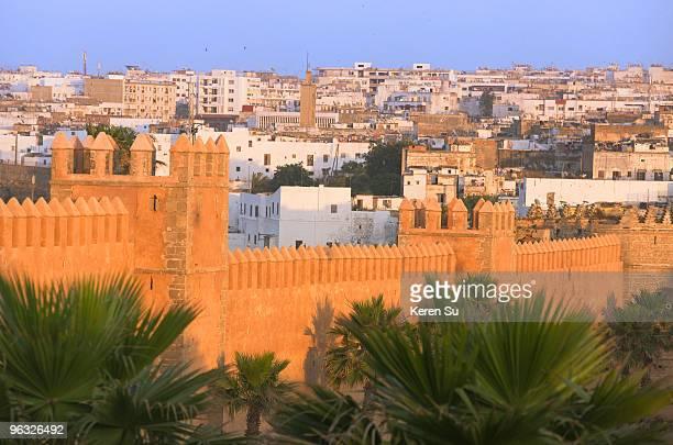Outer Wall of Andalusian Garden, Kasbah des Oudais