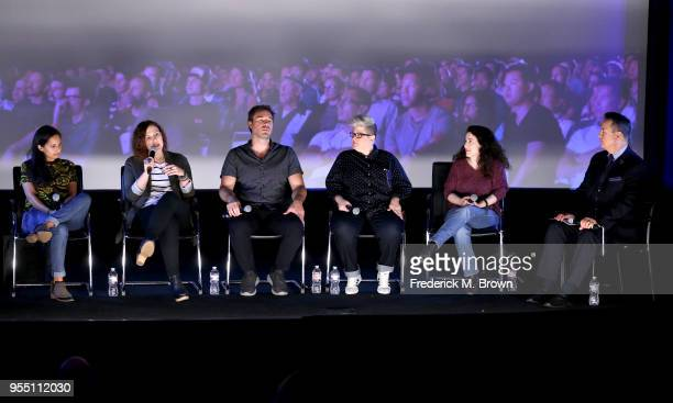 Outfest Director of Programming Lucy Mukerjee NewFilmmakers Los Angeles Programming Director Bojana Sandic SBIFF Programming Director Michael...