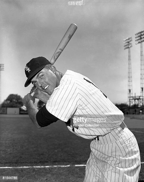 Outfielder Jim Landis of the Chicago White Sox poses for a portrait during Spring Training in March 1957 in Tampa Florida 57720243