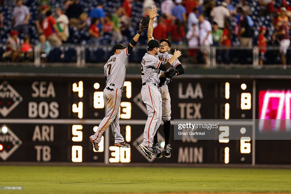 San Francisco Giants v Philadelphia Phillies : News Photo