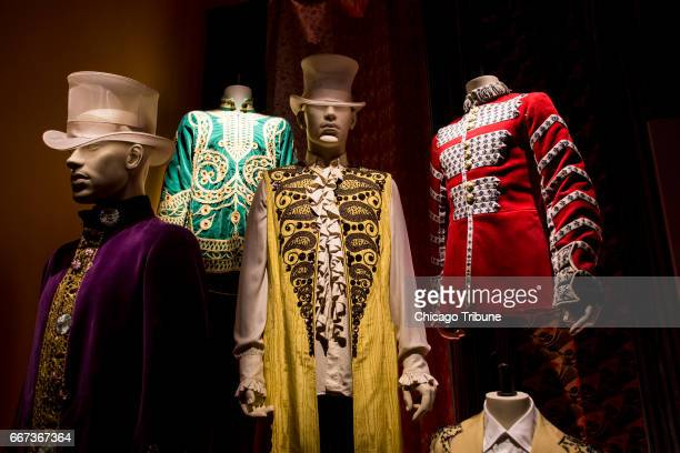 Outfits worn by The Rolling Stones are on display at The Rolling Stones exhibit Exhibitionism which is currently in New York and is coming to Chicago