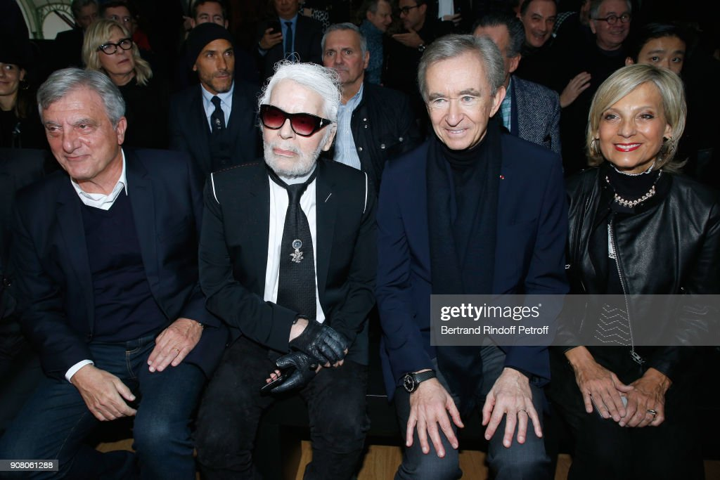 Dior Homme : Front Row - Paris Fashion Week - Menswear F/W 2018-2019 : ニュース写真