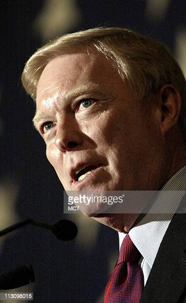 WASHINGTON DC Outgoing Democratic House Minority Leader Rep Dick Gephardt delivers remarks during a ceremonial swearing in Tuesday morning January 7...