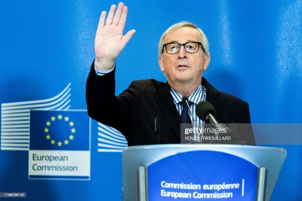 TOPSHOT-BELGIUM-EU-POLITICS-DIPLOMACY : News Photo