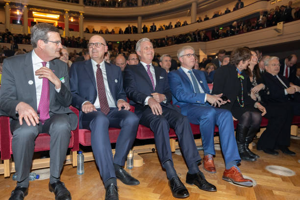 BEL: King Philippe Of Belgium Attends The 125th Anniversary Of The Federation Of Enterprises FEB At The Bozar Palace In Brussels