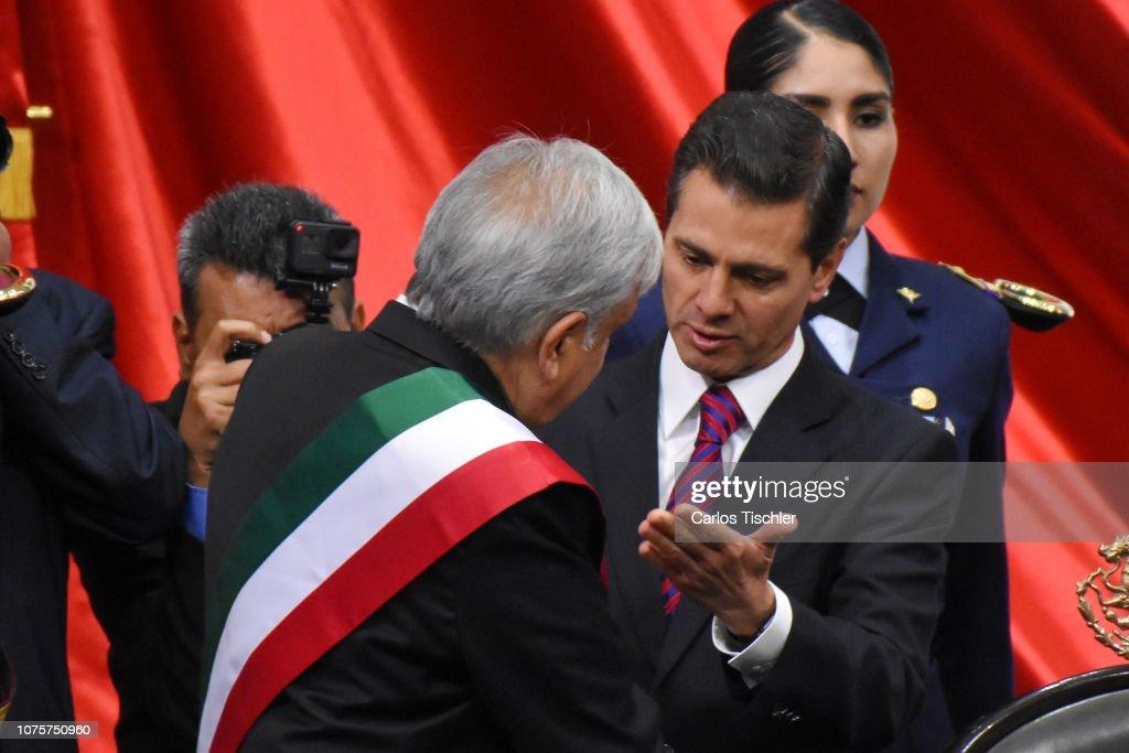 65th Mexico Presidential Inauguration : News Photo