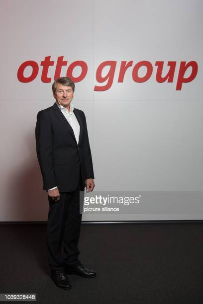 Outgoing Otto Group CEO HansOtto Schrader poses at a results press conference of the German mail order and ecommerce company in Hamburg Germany 25...