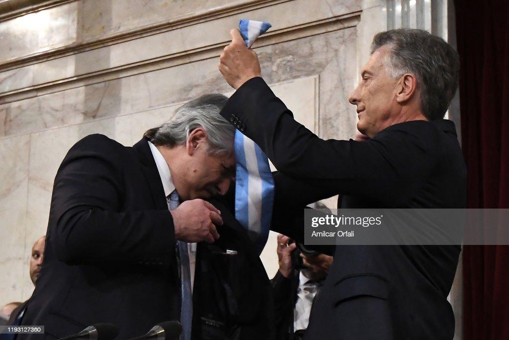 Alberto Fernandez Takes Office in Argentina : ニュース写真