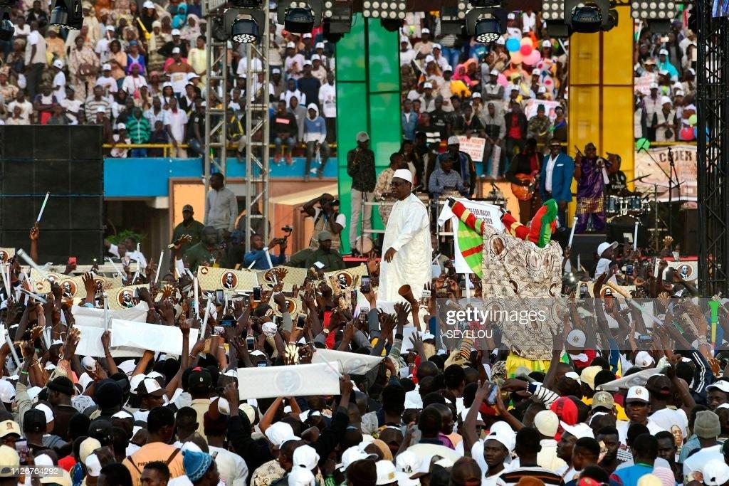 SENEGAL-POLITICS-VOTE : News Photo