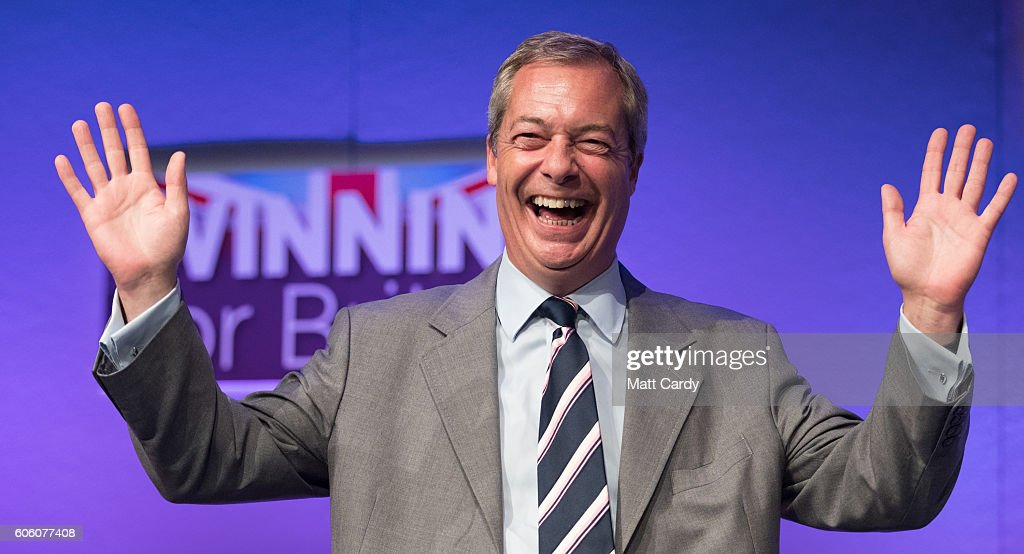 UKIP Announce Their New Leader At Party Conference